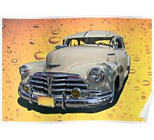Circa 1948 Chevy Coupe Classic Poster