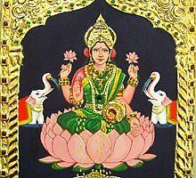 Goddess of wealth- Lakshmi by ramya kapula