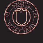 Arthurian Legends  Knights of the Round Table on black by 123jim