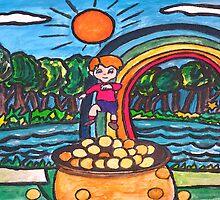 Over The Rainbow by Monica Engeler