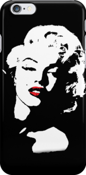 Marilyn Monroe iPhone Case by Lauren Eldridge-Murray