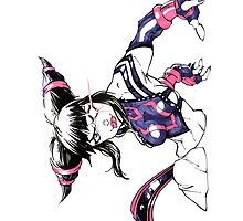 Juri Street Fighter 4 by Ryan Wilton