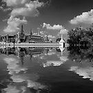 Flooded Bangkok by Laurent Hunziker