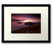 Strumble Head Light Framed Print