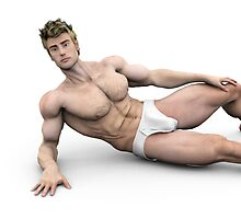 underwear model by farconville