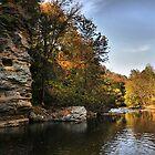 Round Rock Swimming Hole by Ann Eldridge