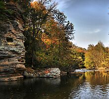Round Rock Swimming Hole by Ann Eldridge