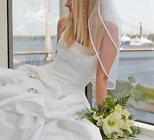 Bride on the window by fotorobs