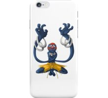 Sesame Street Fighter: Grhalsim iPhone Case/Skin