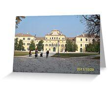 IL PARCODUCALE...la casa di Maria Luigia D'Austria, moglie di Napoleone..PARMA - ITALY- Europa - 2600  visualiz.- RB EXPLORE  NOV. 2011 -                                                  Greeting Card