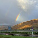 Fort William Rainbow by Chuck Zacharias