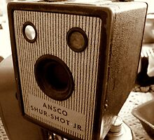 Old Ansco Camera by Pieta Pieterse