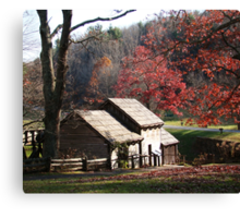 Mabry Mill in the Fall~ Canvas Print