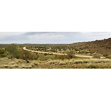 Amata road panorama Photographic Print
