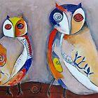 2 Owls  by Megan Schliebs