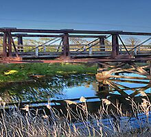 I'm Still Standing ! - Lansdowne Bridge c 1902 , Goulburn NSW - The HDR Experience by Philip Johnson