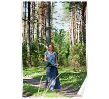 Walking in the wood Poster
