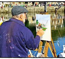 """"""" Artist at Work"""" by Malcolm Chant"""