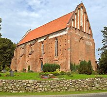 MVP111 Niepars Village church, near Stralsund, Germany. by David A. L. Davies