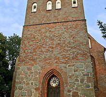 MVP112 Pütte Village church, near Stralsund, Germany. by David A. L. Davies