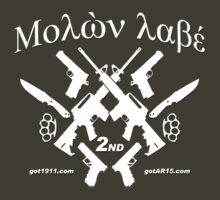 μολὼν λαβέ! Molon Labe! Come and Take them! by Kowulz