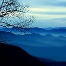 Blue Ridge redux by Mundy Hackett
