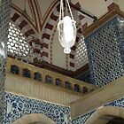 Detail of Decoration in Rustem Pasha Mosque by Patricia127