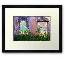 Abandoned But Beautiful Framed Print