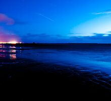 Ardrossan by Night by Steven Robinson