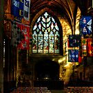 Inside St. Giles Cathedral, Edinburgh by Christine Smith
