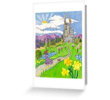 Daffodil Lane Greeting Card