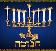 Golden Hanukkah largeGolden Hanukkah by Lotacats