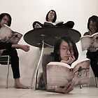 Avid Reader by Misha Dontsov