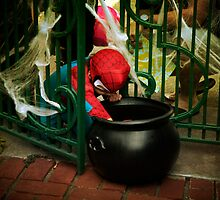 Spiderman needs candy by Lynn Starner