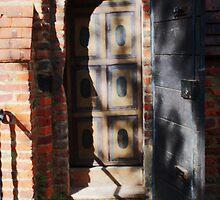 Door within a door, St Mary, Langley Marish by Dave Godden