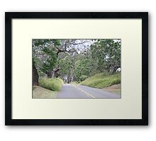 Upcountry Road Framed Print