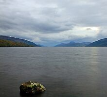 Peaceful Loch Ness by Chuck Zacharias