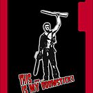 Ash - Evil Dead/Army of Darkness - Boomstick iPhone Case by Chloe van Leeuwen