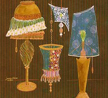 Lamp Menagerie II by jennyelaine