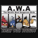 Angry With Attitude - Gangster Birds by BraveAnderson