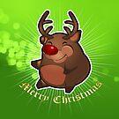 Big, Fat, Merry Reindeer by BigFatRobot