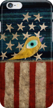Stars and Stripes iphone case by Ruth Fitta-Schulz
