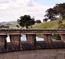 Wall at Carcoar Dam NSW Australia by julie anne  grattan