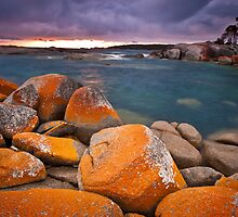 Those Orange Rocks by Mel Sinclair