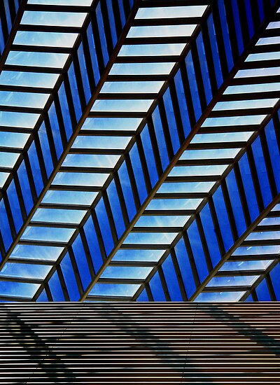 The Kimmel Center roof by cclaude