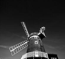 Cley Windmill by marc melander