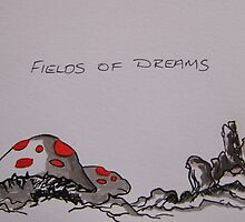 Field of Dreams by leunig
