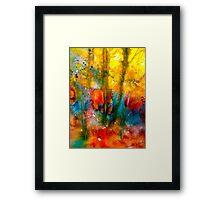 Autumn Lyric Framed Print