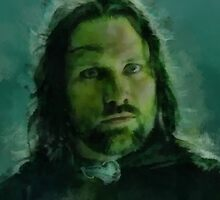 """Aragorn- Lord of the Rings"" by Bruce Jones"