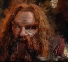 """Gimli-Lord of the Rings"" by Bruce Jones"